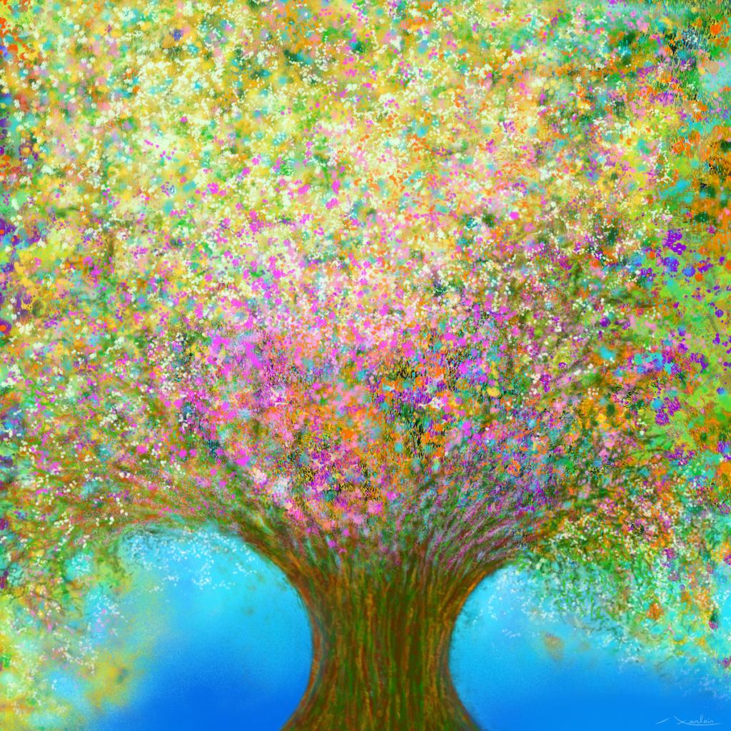 L'amour est le printemps du coeur, et le printemps amille et unes fleurs. – Alexandre Dumas