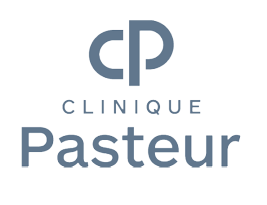 This logo testifies of the partnership between Clinique Pasteur and Artwave for a Digital Art License of Diffusion