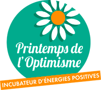 This logo testifies of the partnership between Printemps de L'Optimisme and Artwave for a Digital Art License of Diffusion