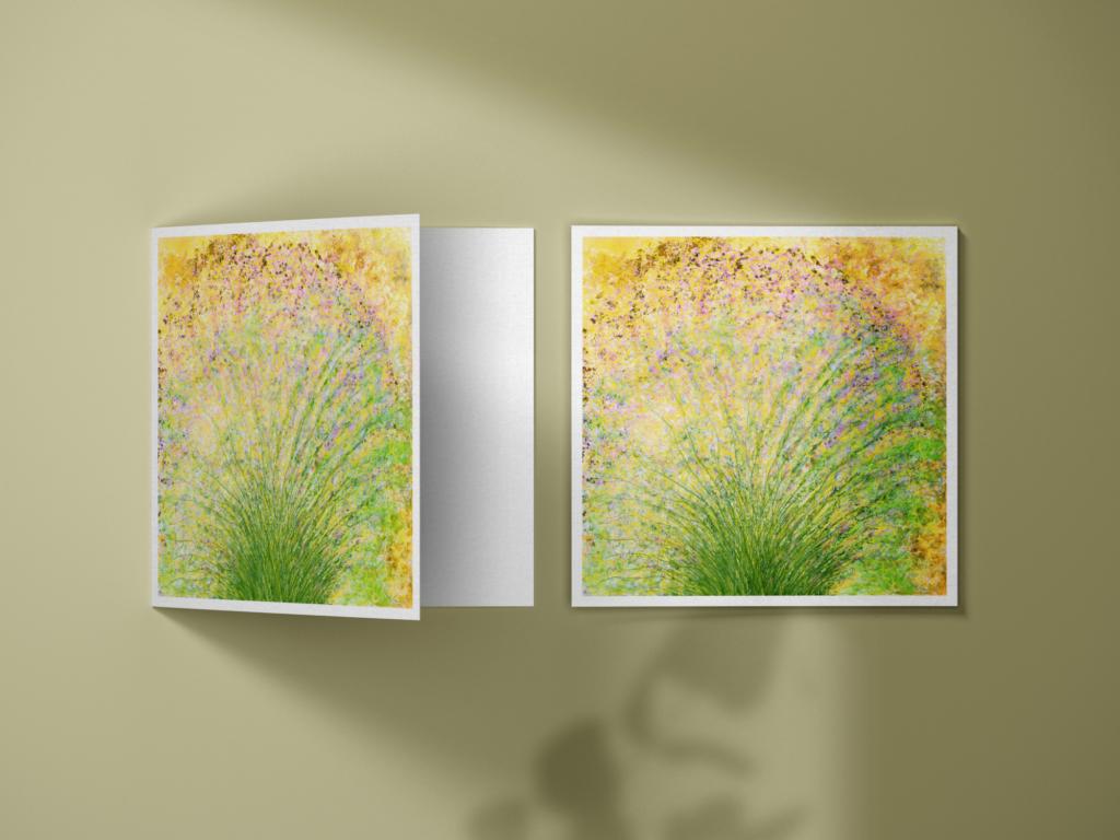 Floral IV est la carte postale parfaite pour envoyer une touche de beauté à vos amis et votre famille. Chaque carte est double (quatre faces), vendue avec son enveloppe assortie, et imprimée en France sur du papier haut de gamme.
